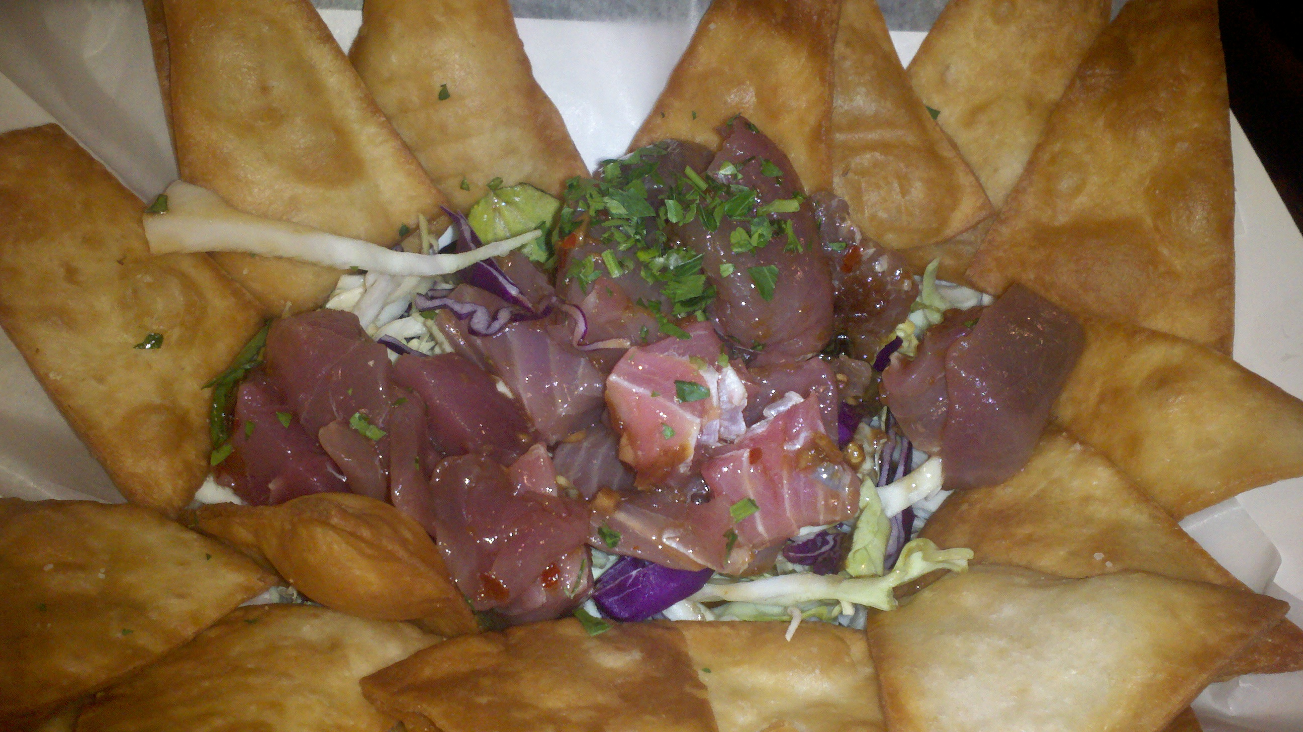 Hawaiian poke at spike s fish house dani 39 s decadent deals for Spikes fish house