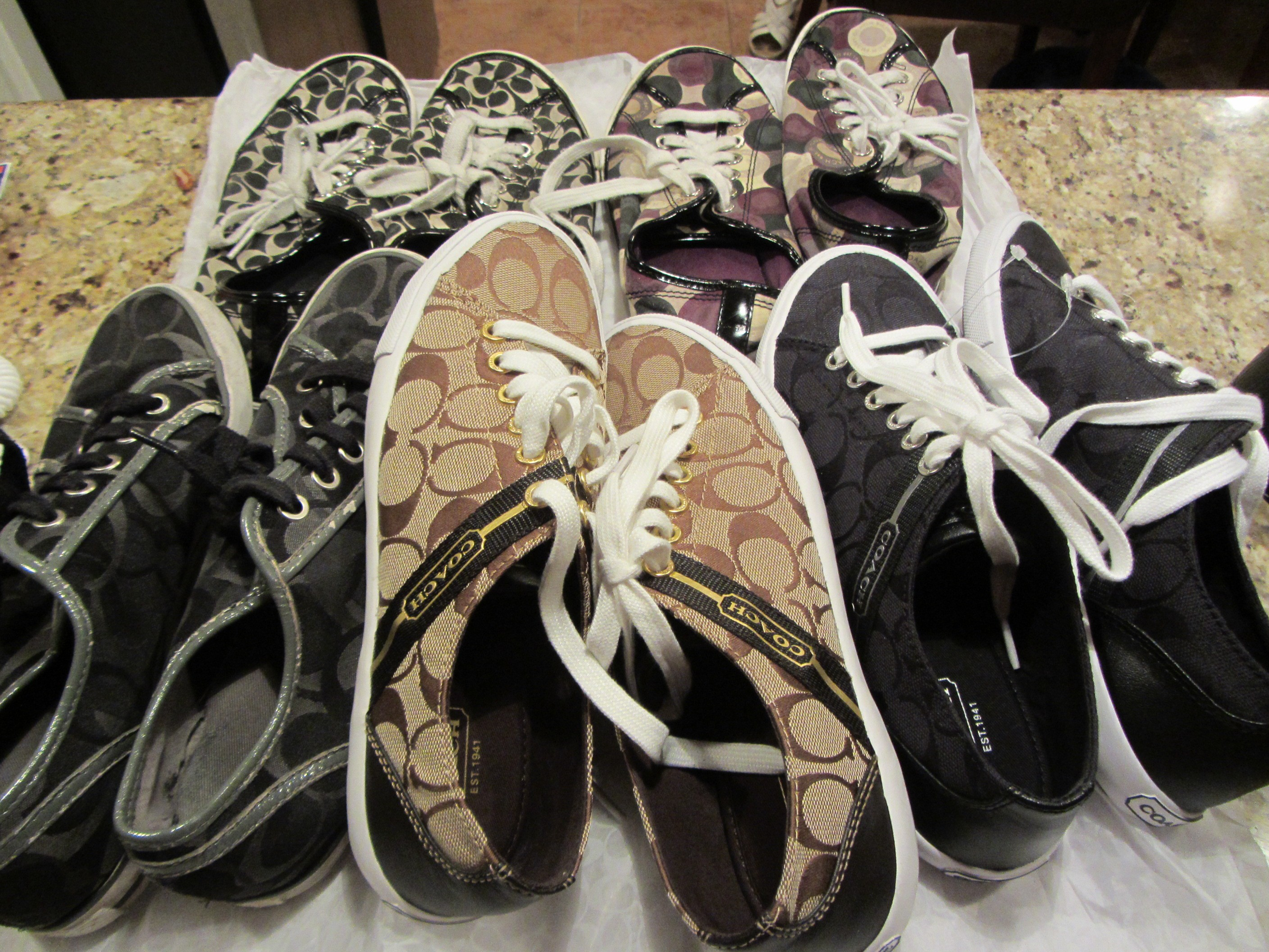 coach purse outlet store locations 5i5s  My happy family of Coach Shoes