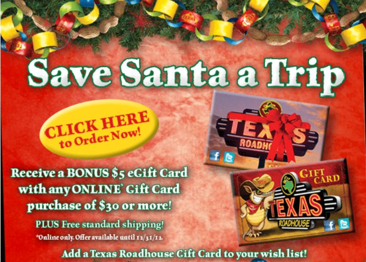 Holiday Gift Card Freebies | Dani's Decadent Deals