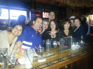 Fun Bar times at Baja Sharkeez in HB