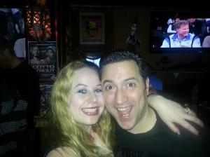 My husband and Tom & I Baja Sharkeez HB