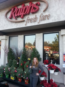 Dani ready to shop at Ralphs