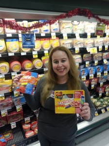 Dani with Lunchables Manager specials at Ralphs