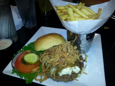 The South Philly Burger - Dave & Buster's