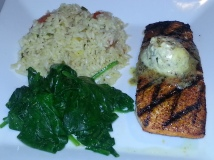 Chargrilled Atlantic Salmon - Dave & Buster's