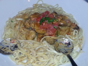 Blackened Chicken Pasta - Dave & Buster's