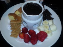 Belgian Chocolate Fondue - Dave & Buster's