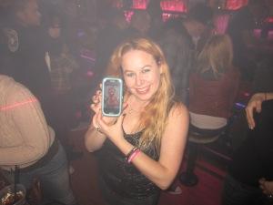 Dani and her Samsung Galaxy S3 Baja Sharkeez HB