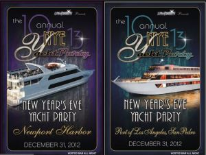 NYE Yacht Party Newport Beach & Los Angeles