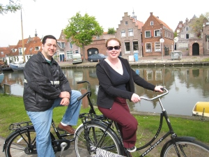 Amsterdam -biking in Edam