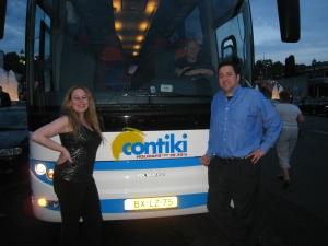 Barcelona - Contiki bus