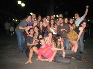 Barcelona-funny group shot