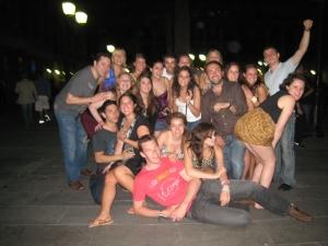 Barcelona-funny group shot