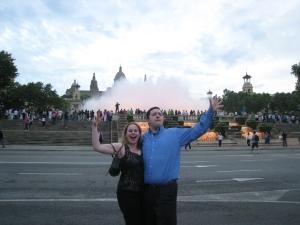 Barcelona -Magic Fountains