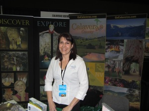 An Exhibitor at Travel Show