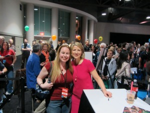 Dani with Samantha Brown