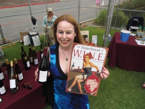 Dani at California Wine Festival in Dana Point