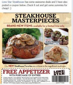 Lonestar Steakhouse Deal