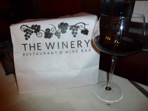 My fave restaurant!! The Winery in Tustin