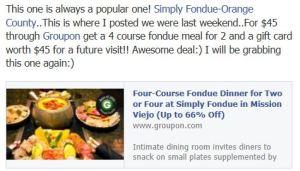 Simply Fondue Deal