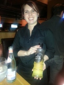 Christa with Domaine de Canton French Ginger Liqueur