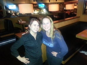 Dani with Christa, Assistant General Manager