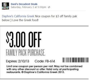 Daphne's California Greek Family Pack $3 off