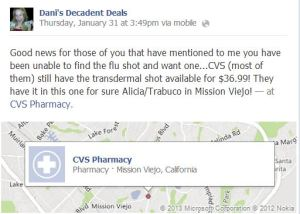 Flu Shot available at CVS Mission Viejo