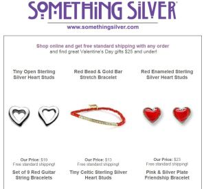 Something Silver gifts under $25 & free shipping