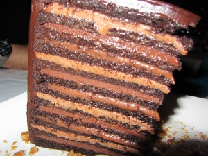 Steakhouse 55 yummy cake