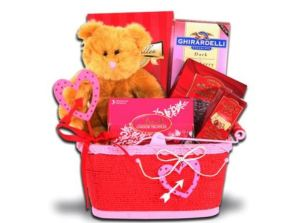 Valentine's Day Alder Creek gift baskets