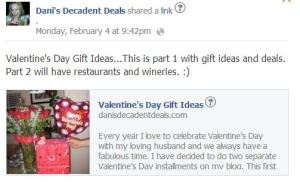 Valentines Day Gift Ideas Part 1 post