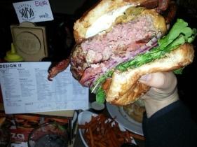 "My huband's ""Design It"" burger"