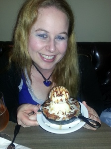 Dani with Cococarma desert