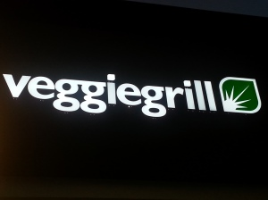 Veggie Grill Sign
