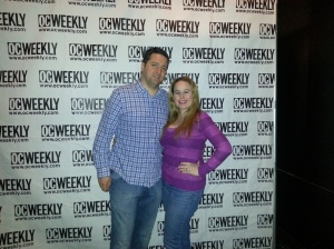 OC Weekly Artopia Event - Me & my hubby