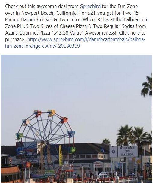 Balboa Fun Zone Deal