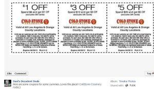 Coldstone Creamery Coupons through 4-30-13