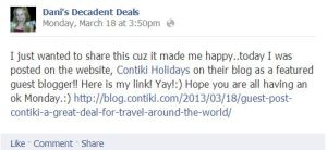 Contiki-Awesome travel deals!!