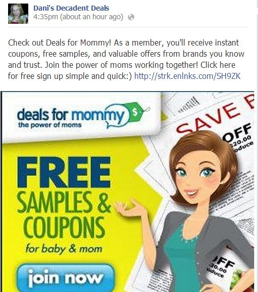 Deals for Mommy-FREEBIES