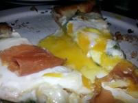 Green Eggs & Ham Pizza