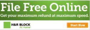 H&R Block File Free online!