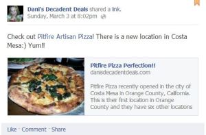 Pitfire Pizza Review & Happy Hour