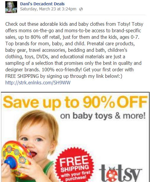 Totsy Kids clothing for cheap & free shipping!!
