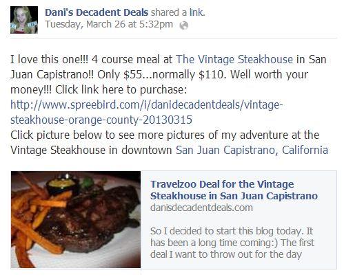 Vintage Steakhouse Meal Deal