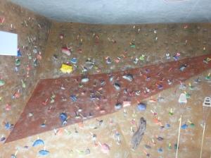 Rock Climbing Wall in OC Mart Mix
