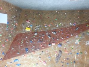 Rock Climbing Wall in OC Mart Mix