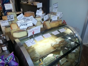 Cheese Shop of Cheeses from all over the World