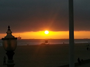 Gorgeous Sunset in Huntington Beach