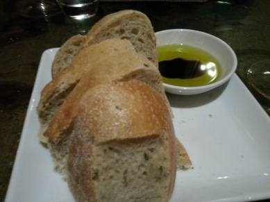 Awesome bread with olive oil & balsalmic